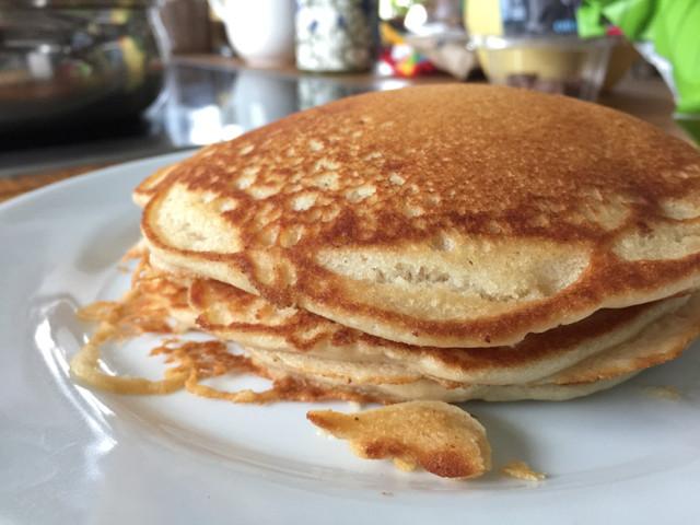Pancakes No Milk  Perfect Pancakes No Eggs No Dairy No Problem The