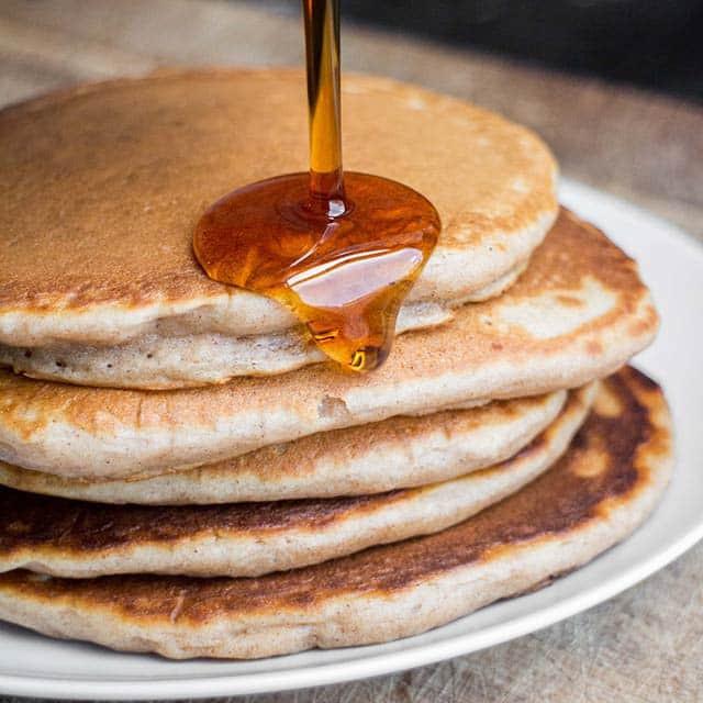 Pancakes No Milk  pancake recipe no butter or milk