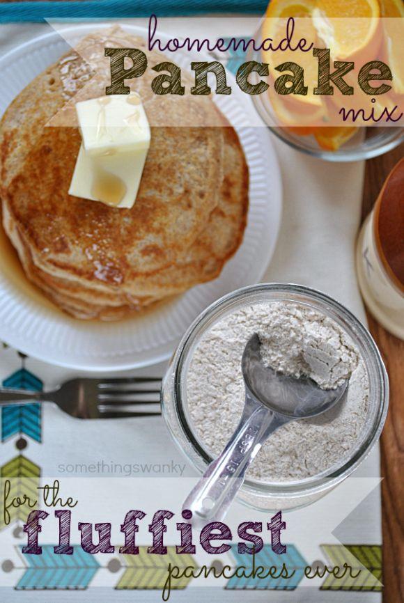 Pancakes No Milk  Homemade Pancake Mix No Milk Milkless Katherine