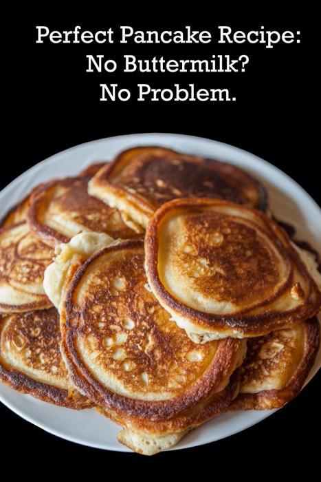 Pancakes No Milk  Perfect Pancake Recipe – When You Don't Have Buttermilk