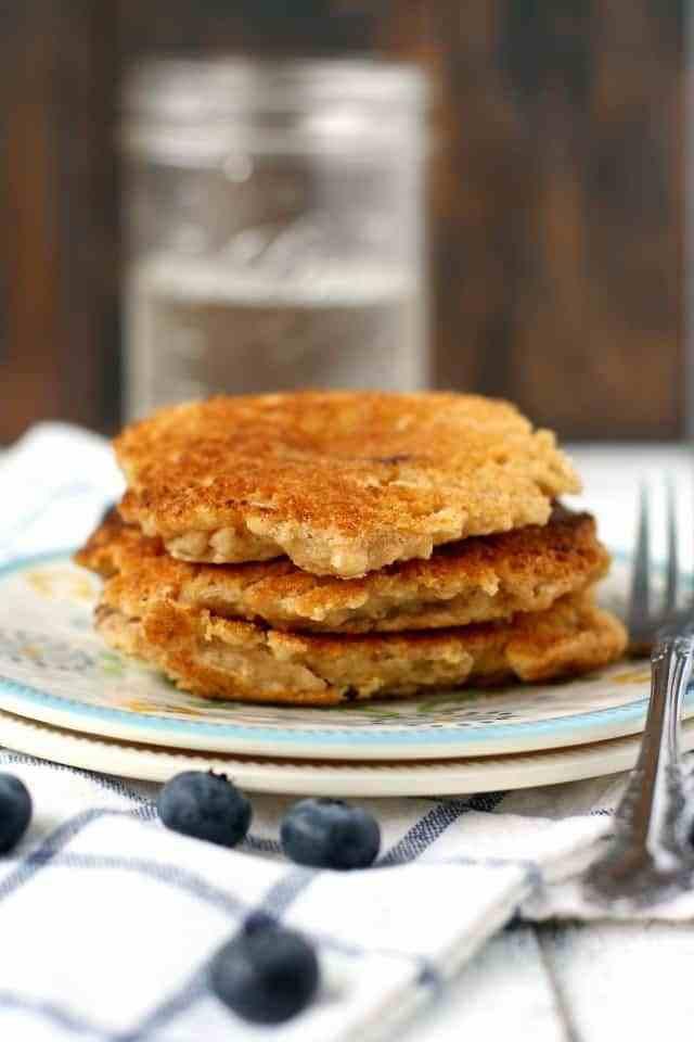 Pancakes No Milk  The Best Dairy Free Pancake Recipe The Pretty Bee