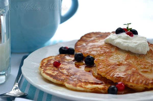 Pancakes No Milk  Pancake Batter Without Milk Milkfree Glenda