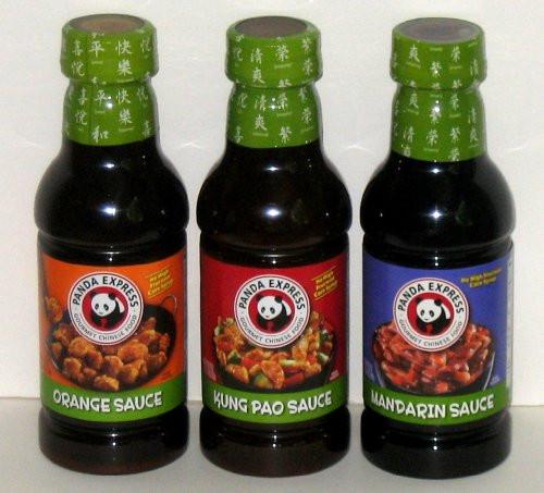 Panda Express Sauces  Panda Express Orange Sauce No MSG 44 oz By