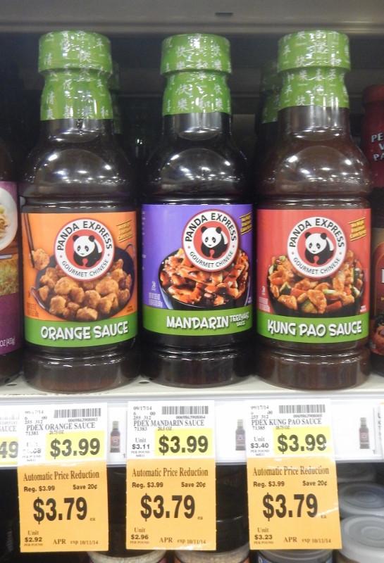 Panda Express Sauces  Unadvertised Fred Meyer Deals Horizon Milk Horizon Mac