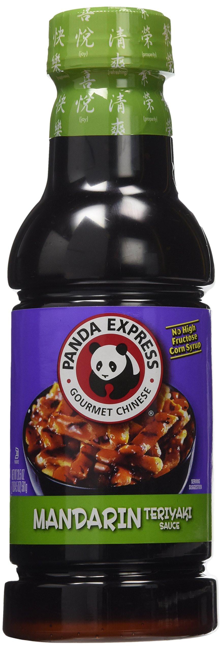 Panda Express Sauces  Amazon Panda Express Chinese Mandarin Teriyaki Sauce