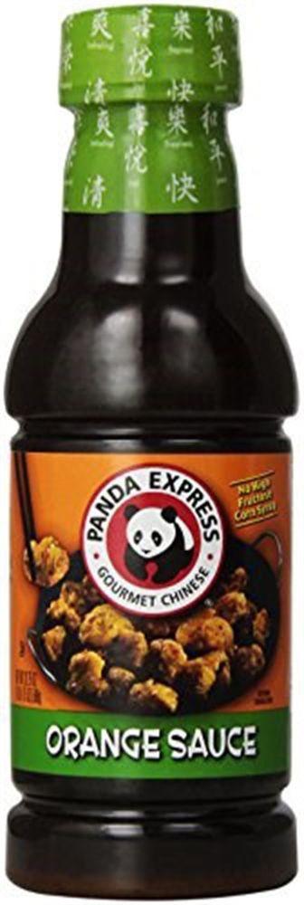 Panda Express Sauces  Panda Express Orange Variety Sauce Package Bottle