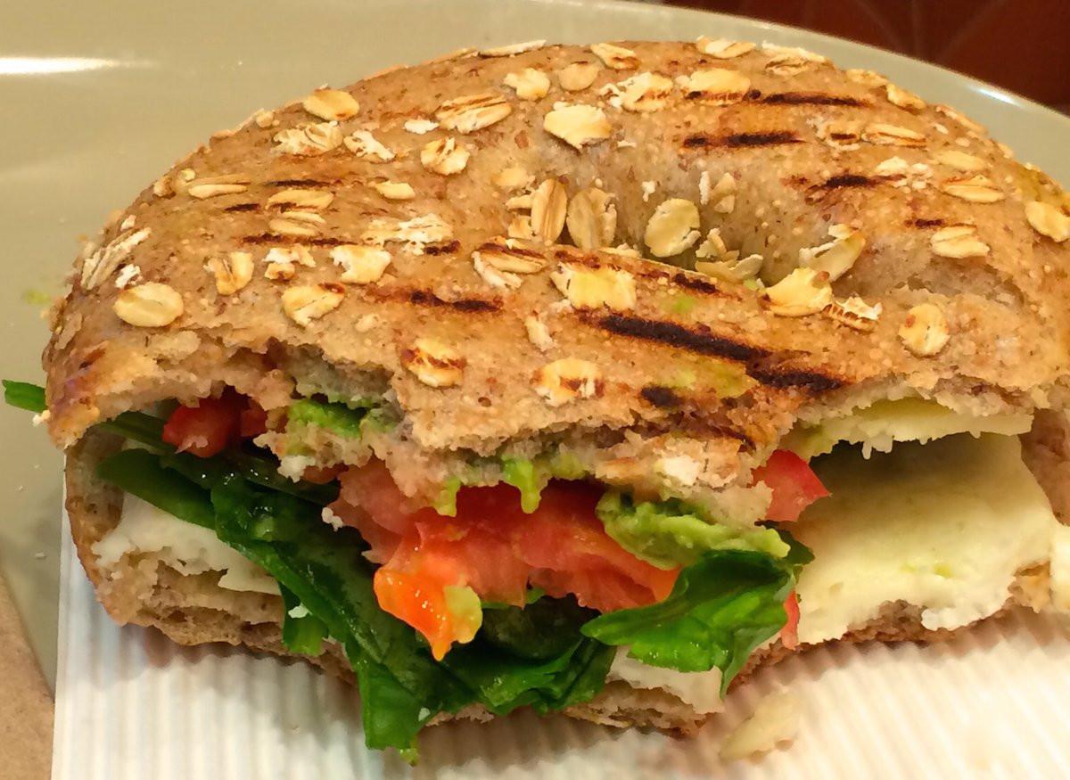 Panera Bread Avocado Egg White & Spinach Breakfast Power  Healthy breakfasts at McDonald s Panera Starbucks