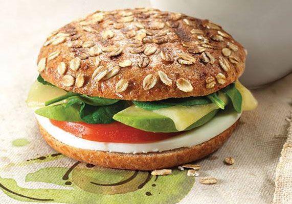 Panera Bread Avocado Egg White & Spinach Breakfast Power  Panera Bread s Egg White Avocado & Spinach Power sandwich