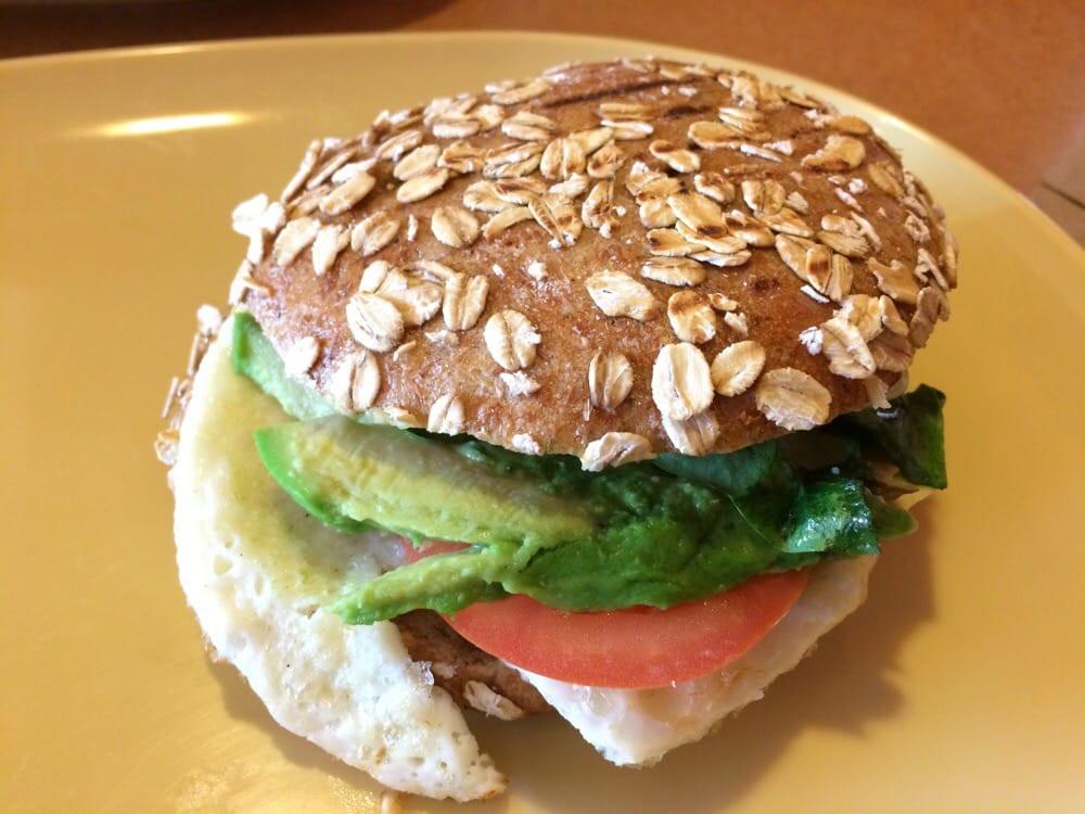 Panera Bread Avocado Egg White & Spinach Breakfast Power  turkey avocado sandwich panera