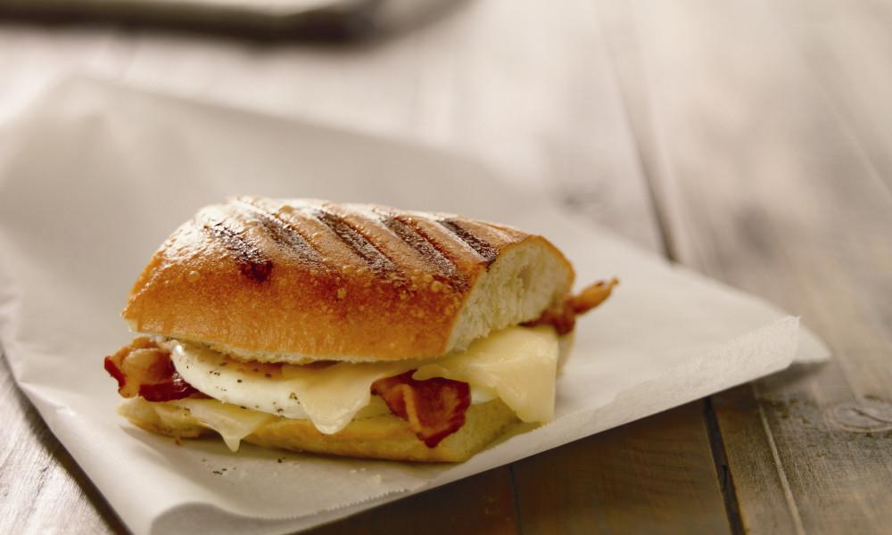Panera Bread Breakfast Time  Panera Introduces Grilled Breakfast Sandwiches