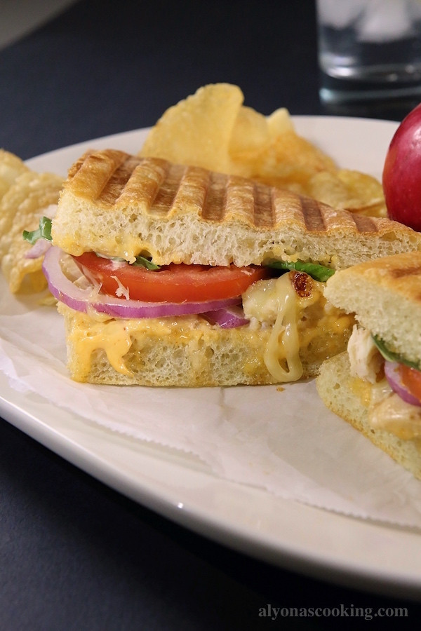 Panera Bread Frontega Chicken Panini On Focaccia  Frontega Chicken Panini Sandwich Recipe Panera Bread Copycat