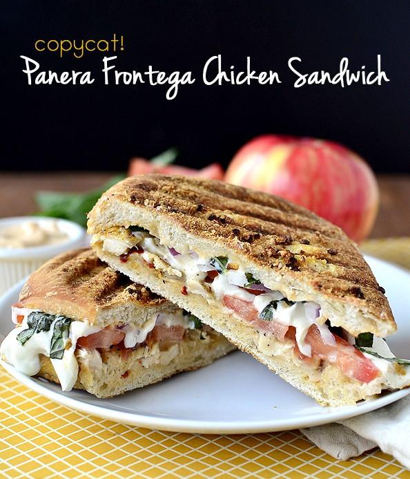 Panera Bread Frontega Chicken Panini On Focaccia  Copycat Panera Frontega Chicken Panini cherylc