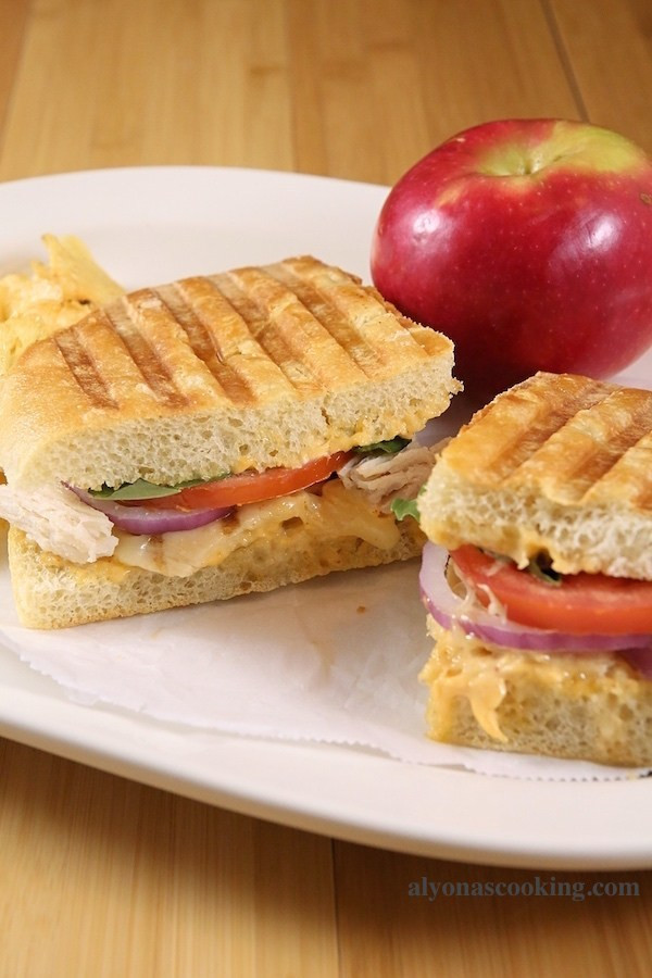 Panera Bread Frontega Chicken Panini On Focaccia  Frontega Chicken Panini Sandwich Recipe Panera Bread