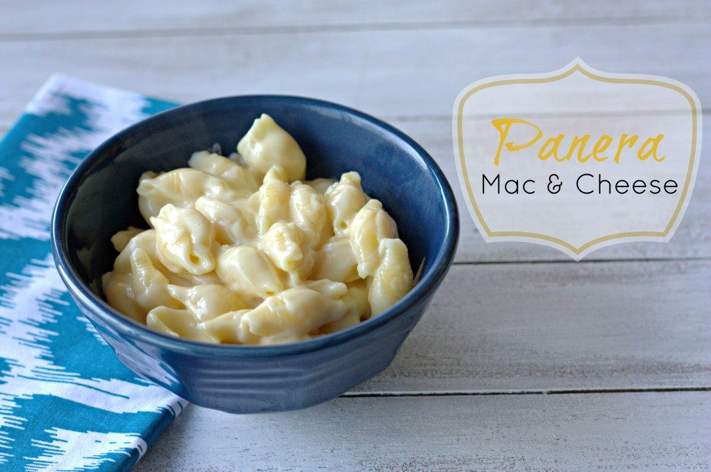 Panera Bread Mac And Cheese Recipe  Panera s Mac & Cheese Recipe Food Folks and Fun
