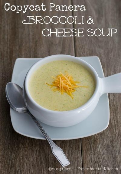 Panera Broccoli Cheddar Soup  Panera Broccoli and Cheddar Soup Copycat
