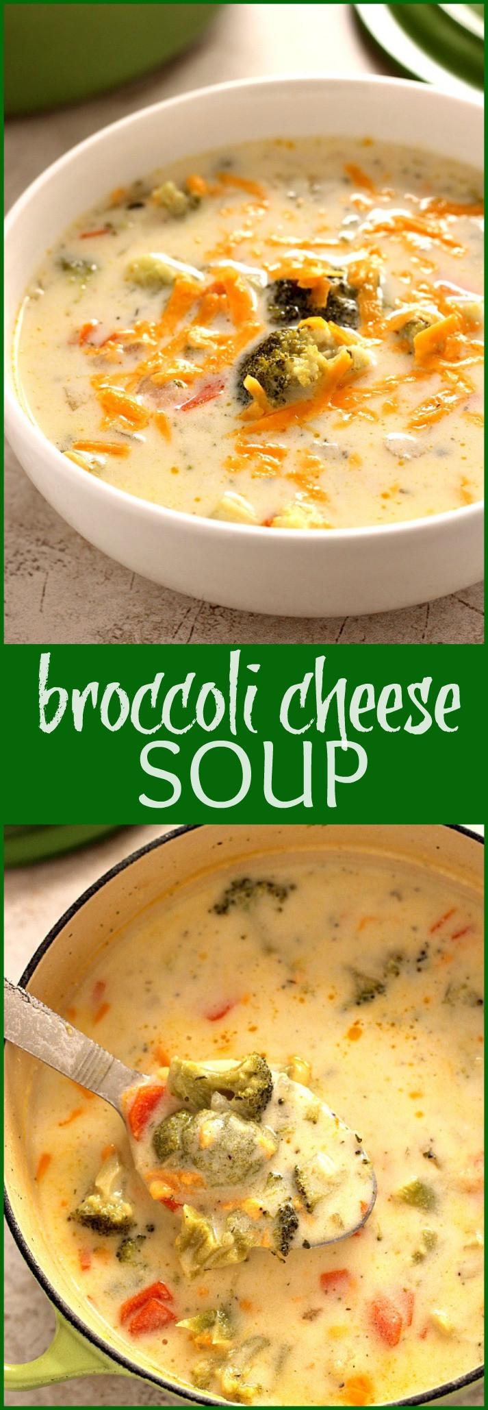 Panera Broccoli Cheddar Soup Recipe  Broccoli Cheese Soup Panera Copycat Crunchy Creamy Sweet