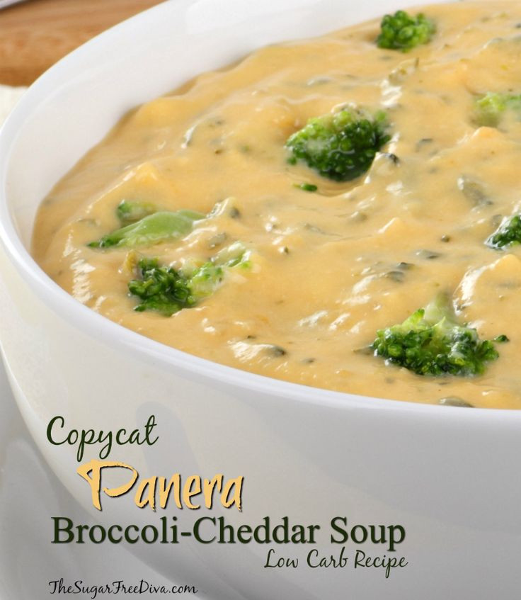 Panera Broccoli Cheddar Soup Recipe  189 best images about Soups Salads and Sides on Pinterest