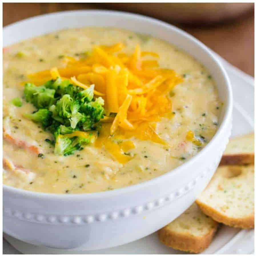 Panera Broccoli Cheddar Soup Recipe  Copycat Panera Broccoli Cheese Soup The Best Blog Recipes