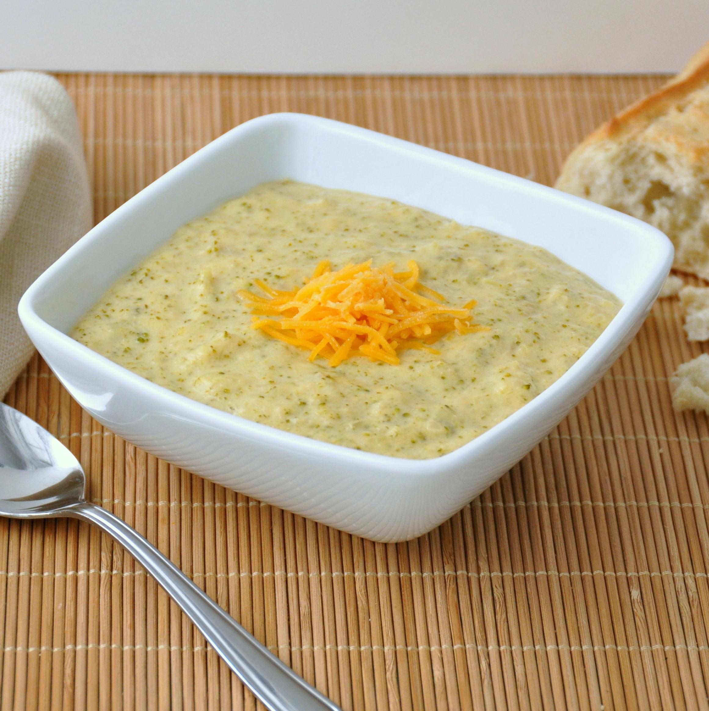 Panera Broccoli Cheddar Soup Recipe  Broccoli Cheddar Soup – The Way to His Heart