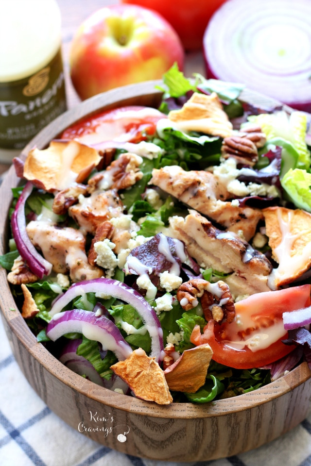 Panera Chicken Salad  Copycat Panera Bread Fuji Apple Chicken Salad Kim s Cravings