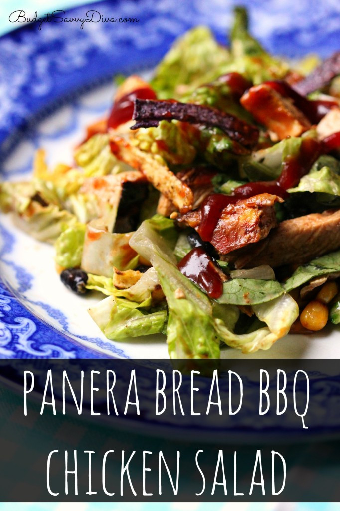 Panera Chicken Salad  Panera Bread BBQ Chicken Salad Recipe