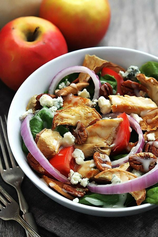 Panera Chicken Salad  Weekly Menu Plan 20 Recipe Girl