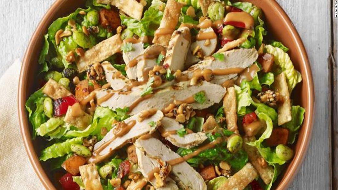 Panera Chicken Salad  Are there too many antibiotics in your fast food meat