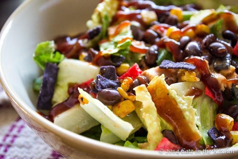 Panera Chicken Salad  Copycat Panera Bread BBQ Chopped Chicken Salad Catz in