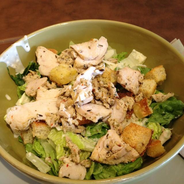 Panera Chicken Salad  panera bread grilled chicken caesar salad calories