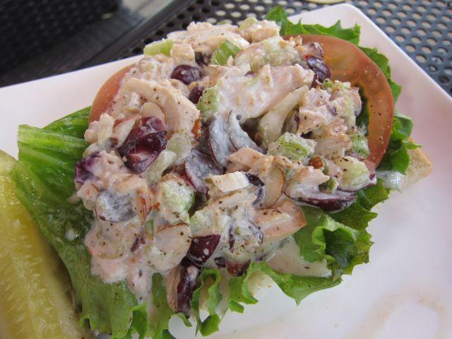 Panera Chicken Salad  Review Panera Bread Napa Almond Chicken Salad Sandwich