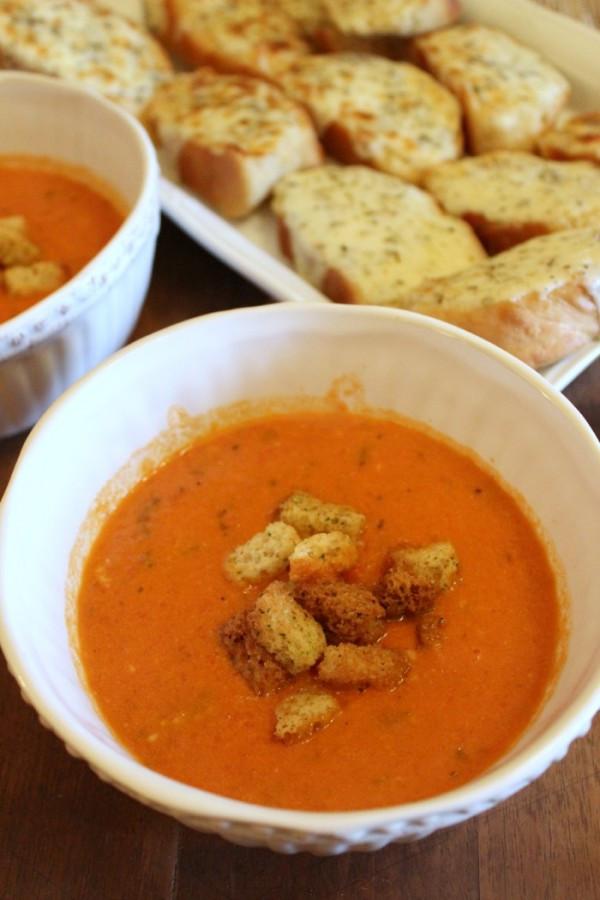Panera Tomato Soup  Creamy Tomato Basil Soup Panera Copycat