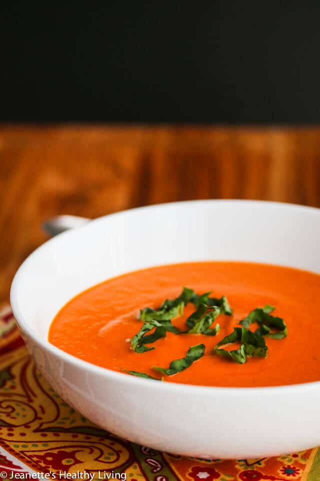 Panera Tomato Soup  Copycat Panera Creamy Tomato Basil Soup Recipe Jeanette