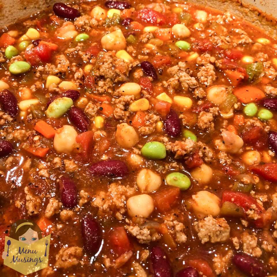 Panera Turkey Chili  Menu Musings of a Modern American Mom Copycat Recipe of