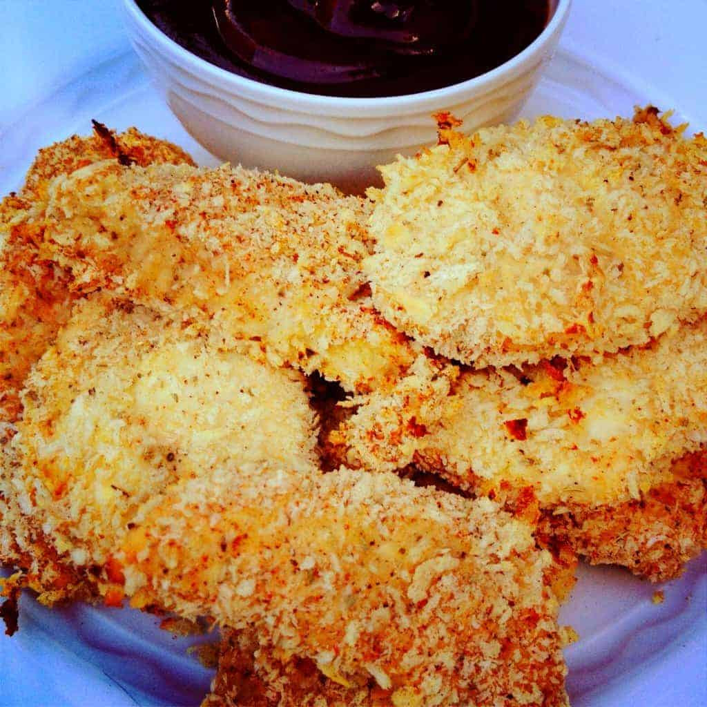 Panko Baked Chicken  baked fried chicken panko