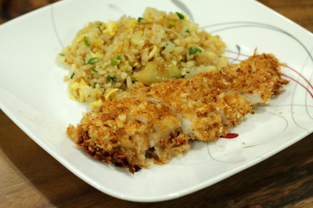 Panko Baked Chicken  Baked Panko Chicken Recipe