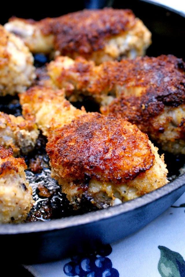 Panko Baked Chicken  Oven Fried Panko Crusted Chicken Drumsticks