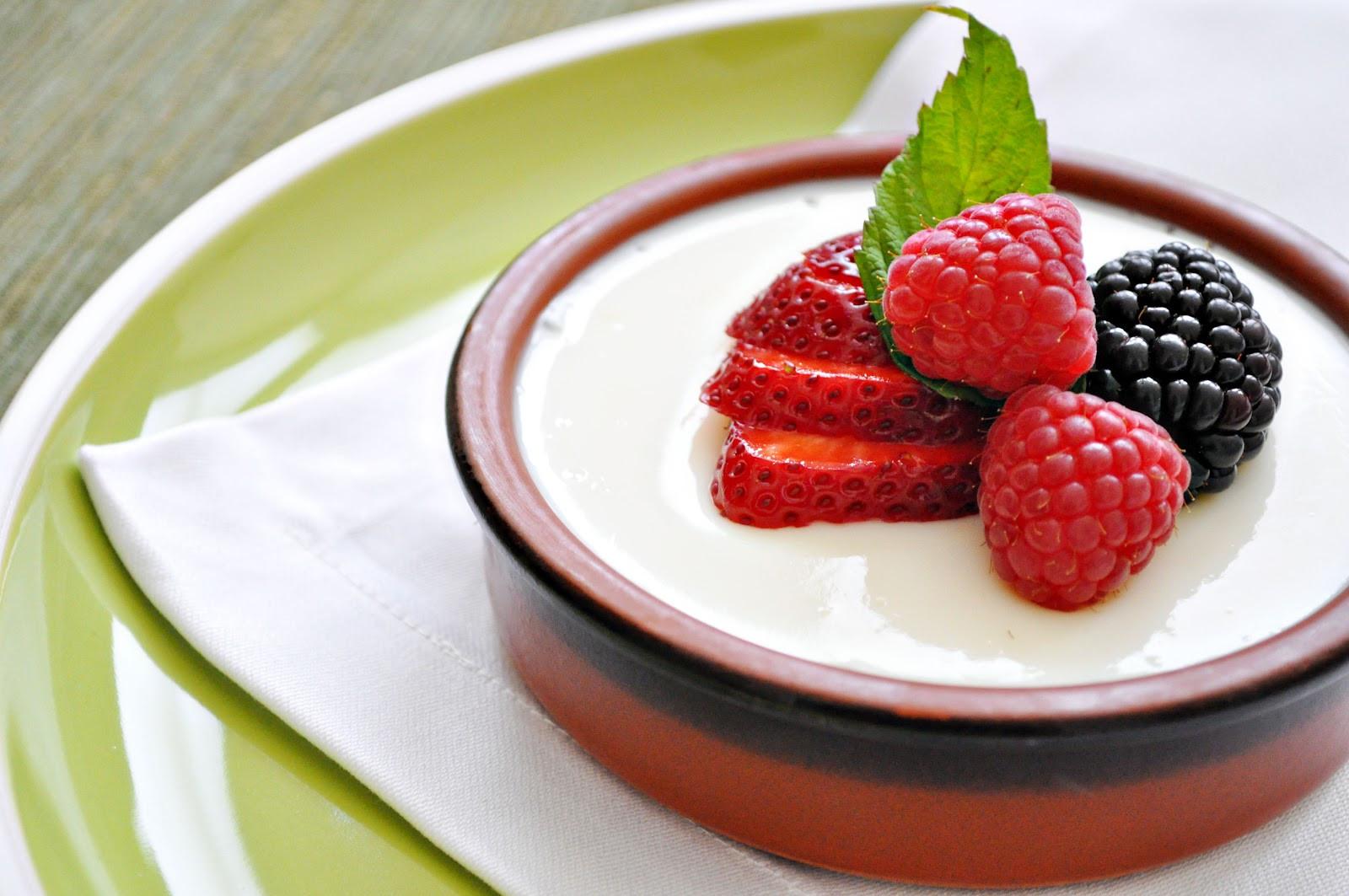 Panna Cotta Dessert  Eat Live Grow Paleo Food Medicine Gelatine for your Skin