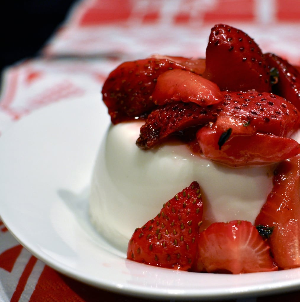 Panna Cotta Desserts  Recipe For Simple Panna Cotta With Strawberries