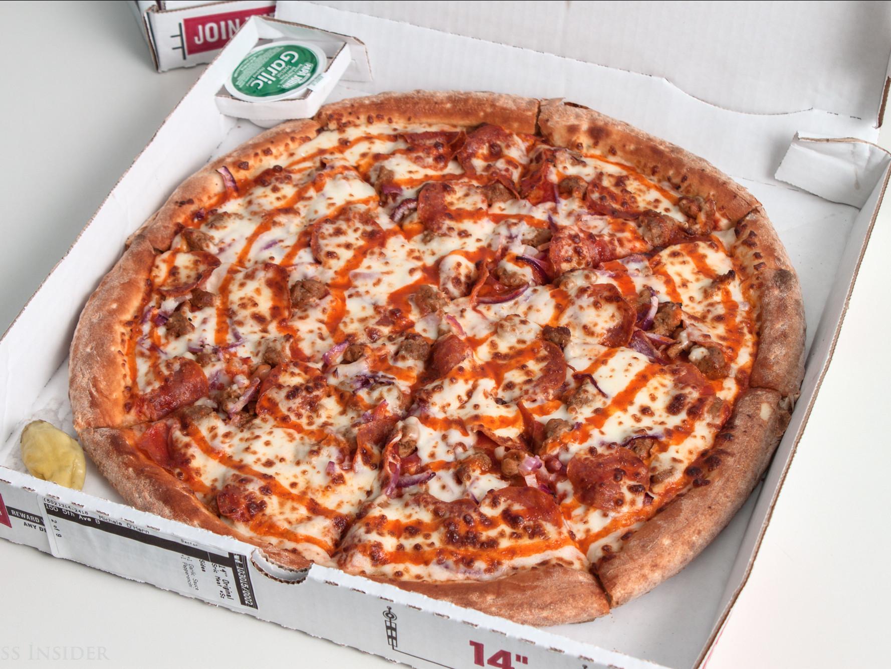 Papa John'S Buffalo Chicken Pizza  papa johns