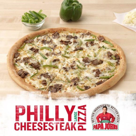 Papa John'S Buffalo Chicken Pizza  philly cheese steak pizza calories papa johns
