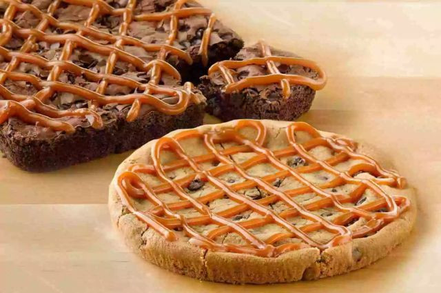 Papa John'S Desserts  Papa John s Launches New Salted Caramel Topping for