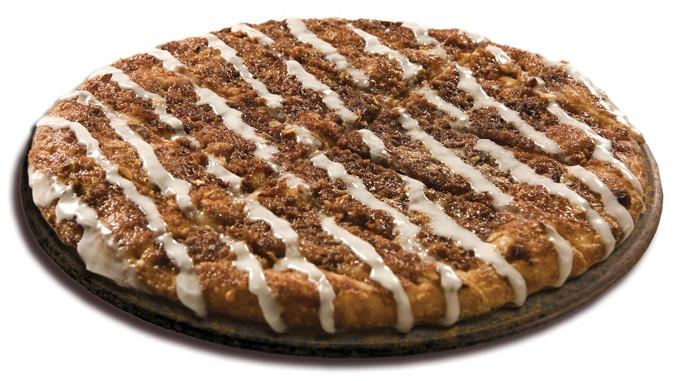Papa Johns Desserts  Papa John's discontinues Cinnapie dessert pizza Chew Boom