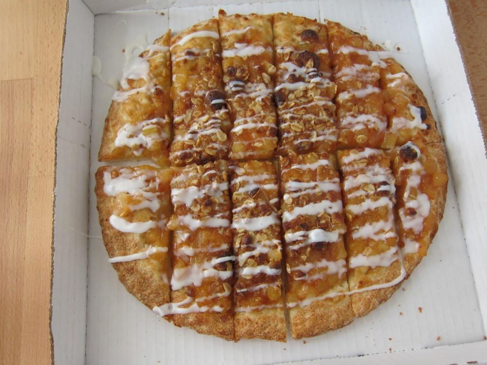 Papa Johns Desserts  Review Papa John s Applepie