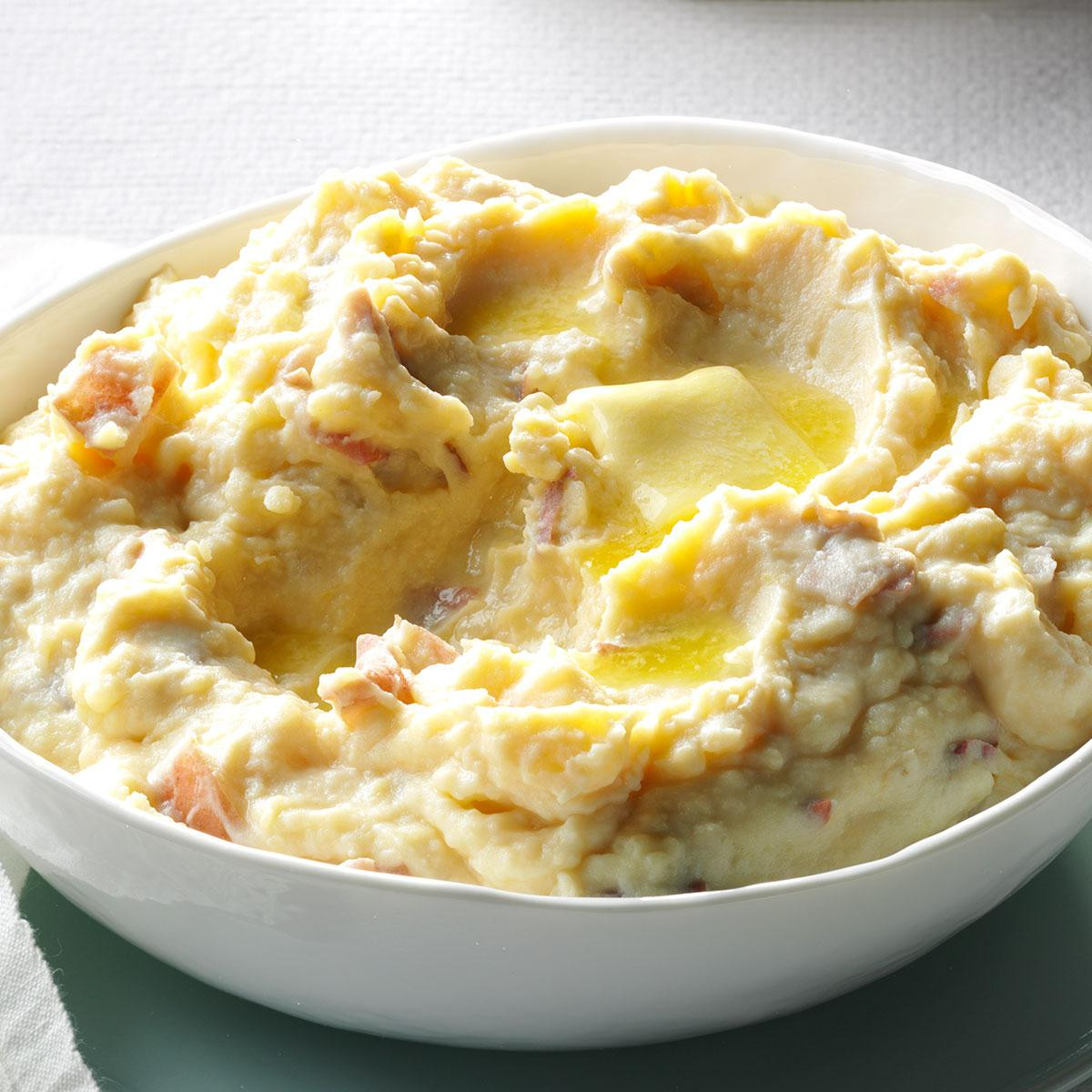 Parmesan Mashed Potatoes  Rich & Creamy Parmesan Mashed Potatoes Recipe