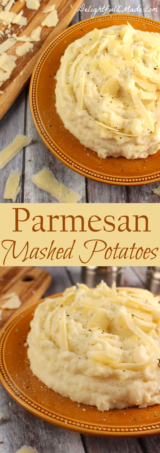 Parmesan Mashed Potatoes  Parmesan Mashed Potatoes Delightful E Made