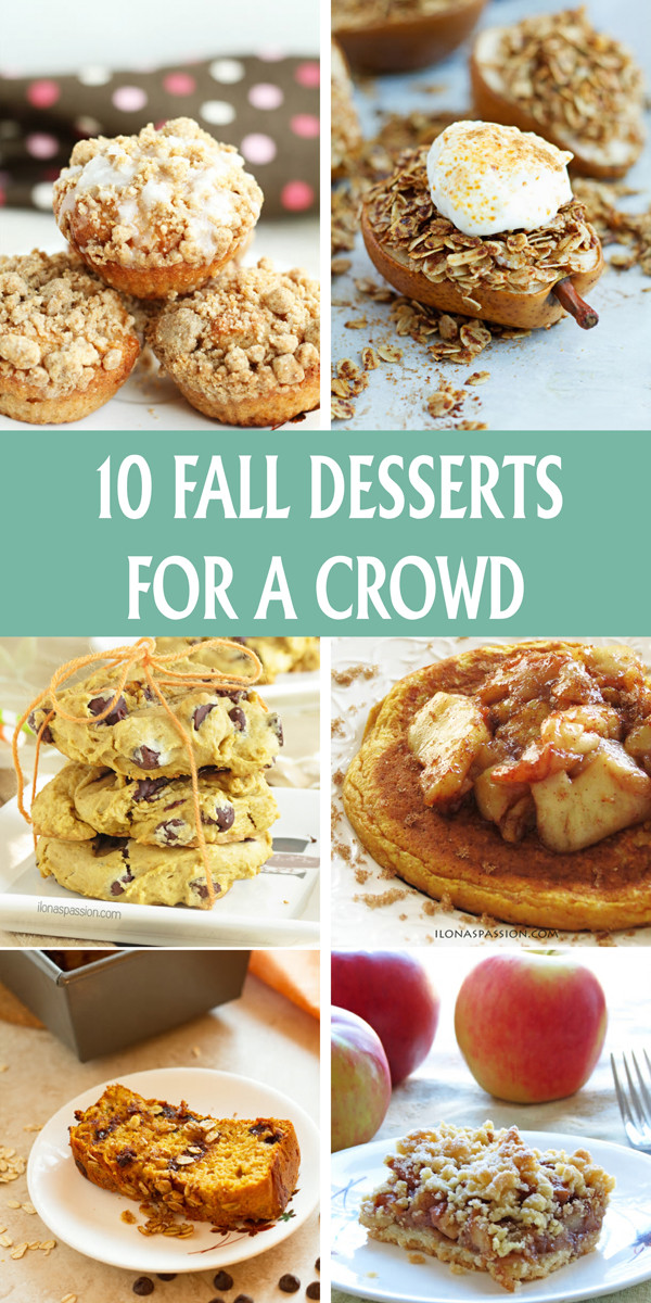 Party Desserts For A Crowd  10 Fall Desserts for A Crowd Ilona s Passion