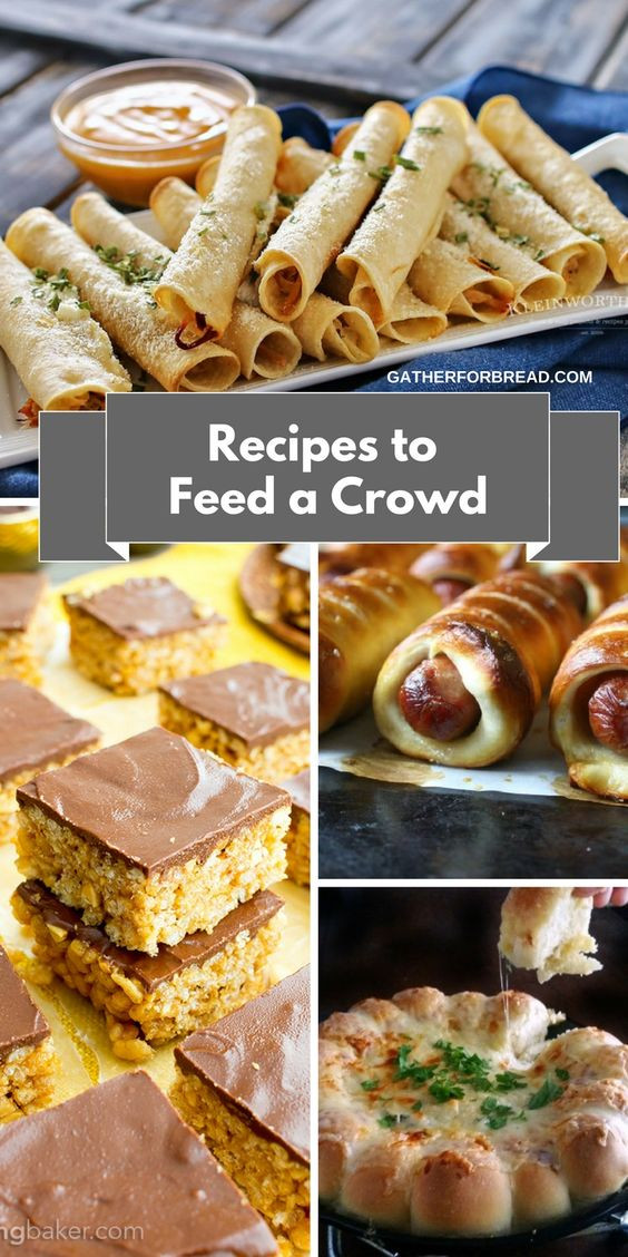 Party Desserts For A Crowd  Recipes to Feed a Crowd Easy Entertaining