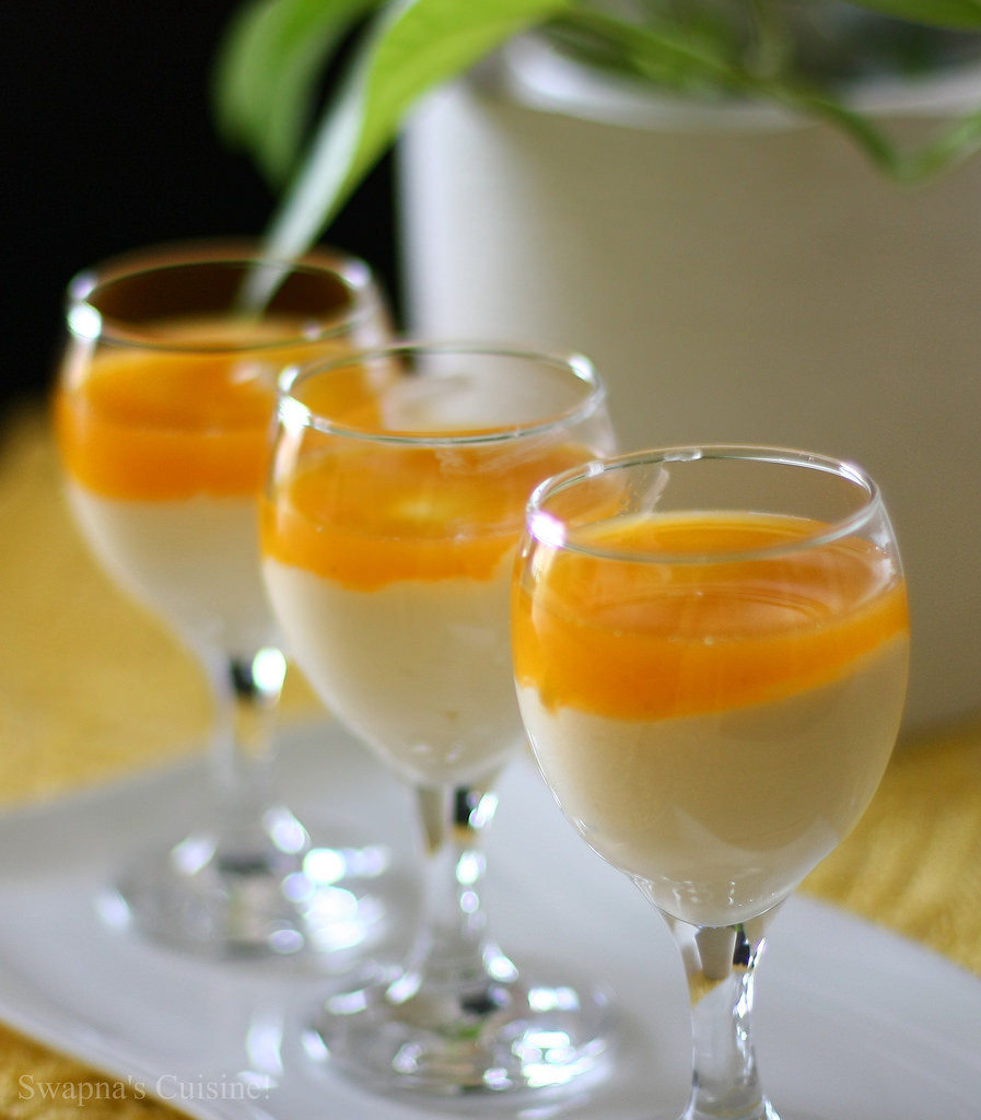 Passion Fruit Desserts  Swapna s Cuisine White Chocolate Mousse with Passion Fruit