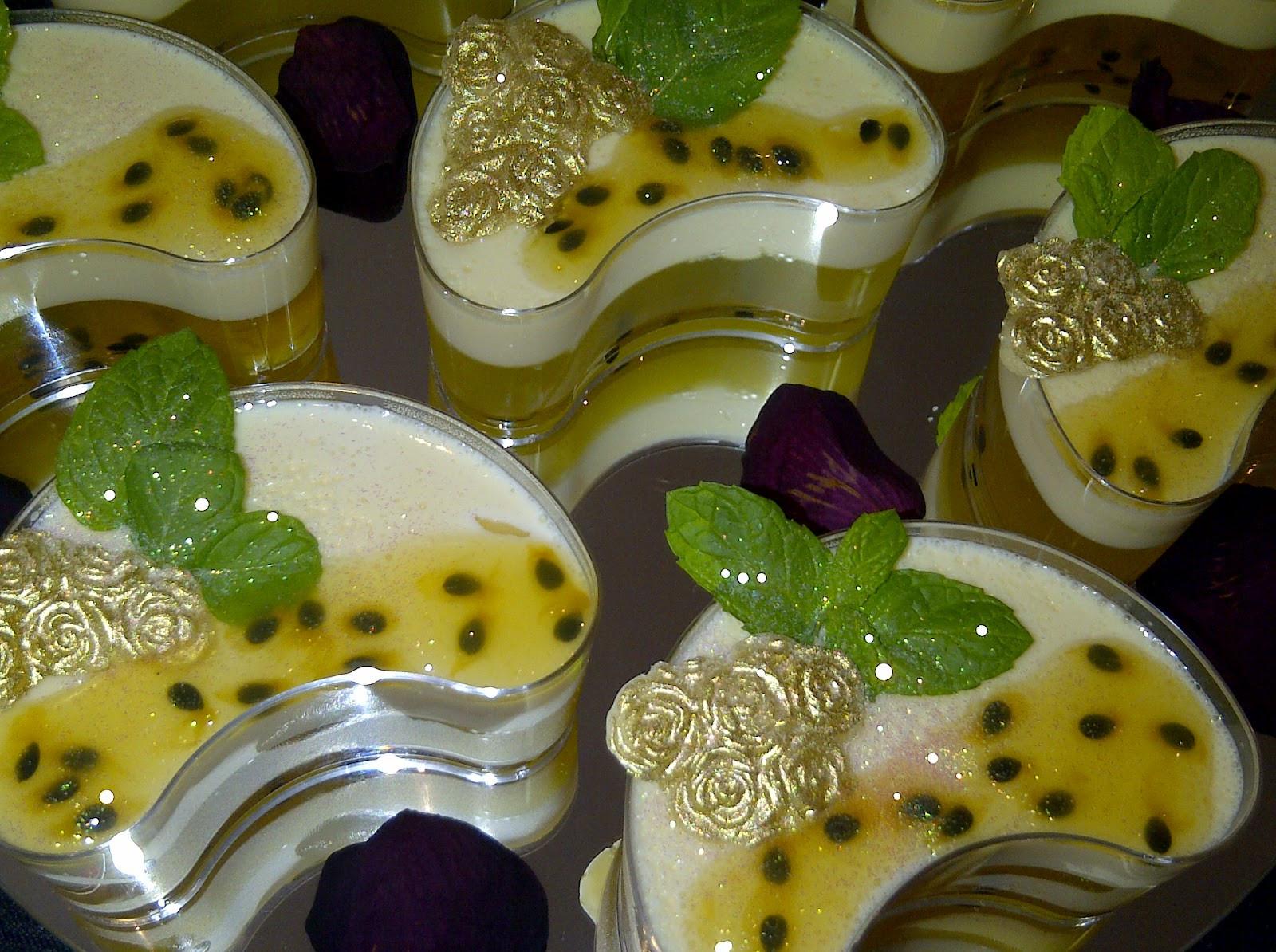Passion Fruit Desserts  CakeWalk Passion Fruit Dessert