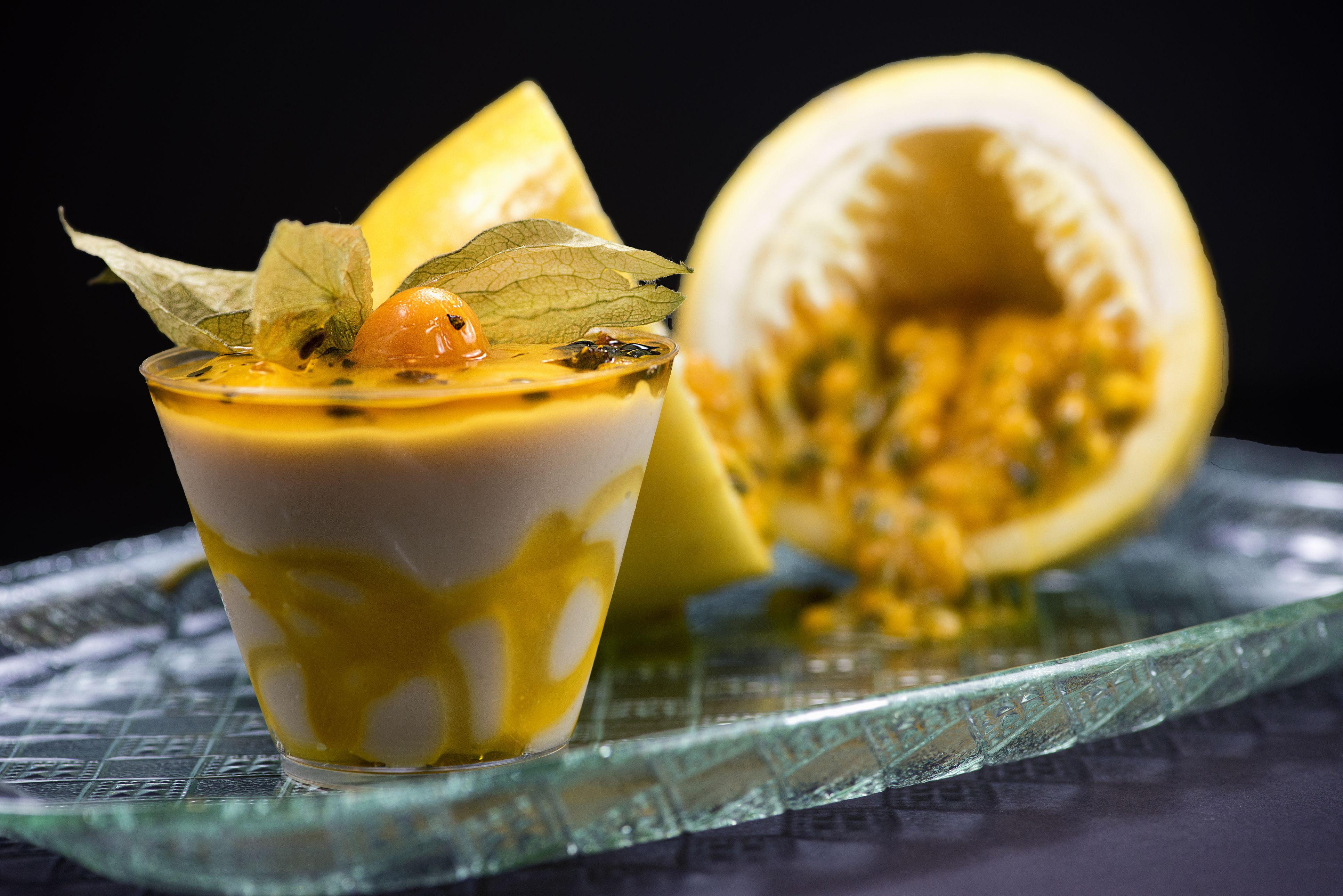 Passion Fruit Desserts  Recipe for Passion Fruit Mousse a Tropical Treat
